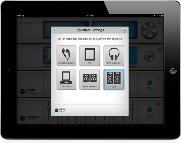 Waves MaxxAudio and Pro EQ | Audiophile App